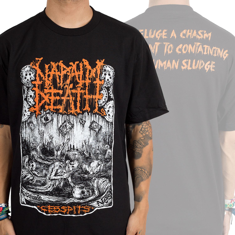 Napalm Death Quot Cesspit Quot T Shirt Indiemerchstore