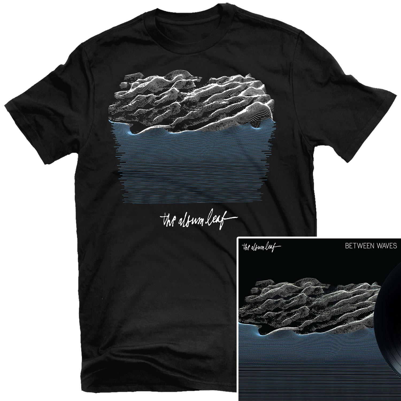 Between Waves T Shirt + Standard LP Bundle