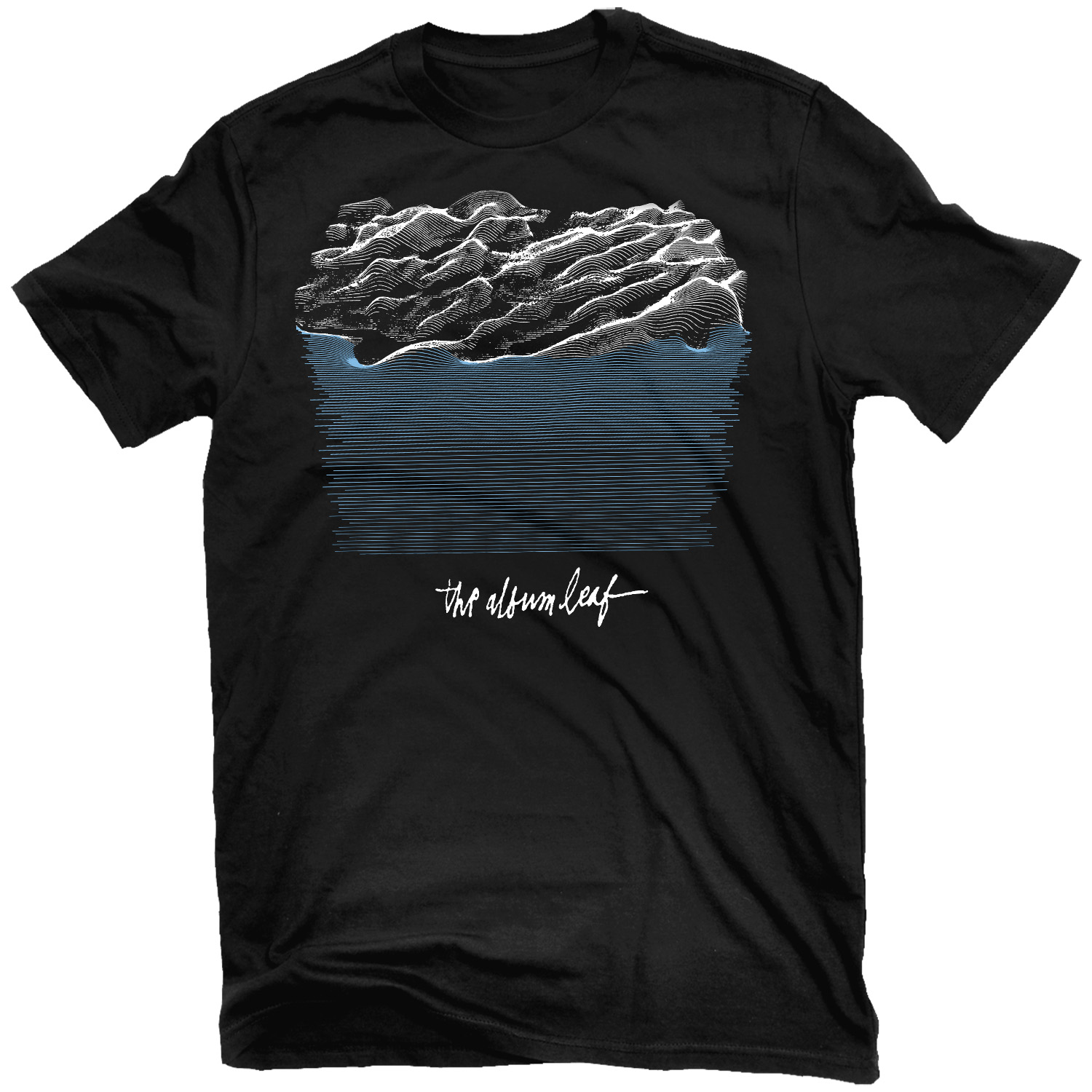 Between Waves T Shirt + Deluxe 2LP Bundle