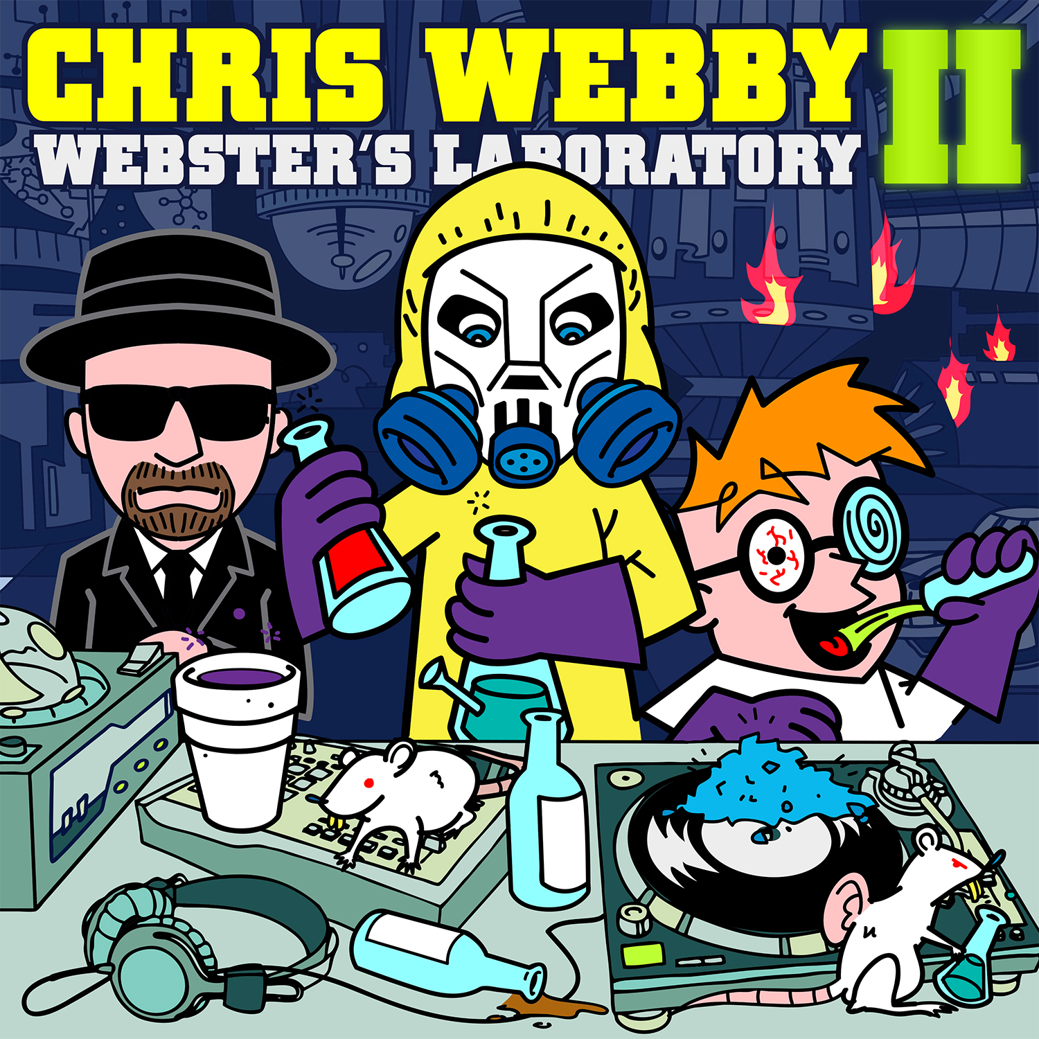 """Webster's Lab II"" Signed CD"