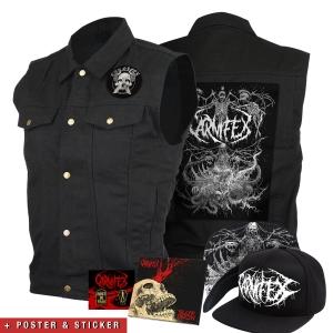 Slow Death CD + Vest + Hat + Pins