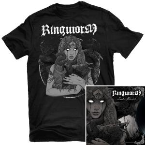 Snake Church T Shirt + LP Bundle