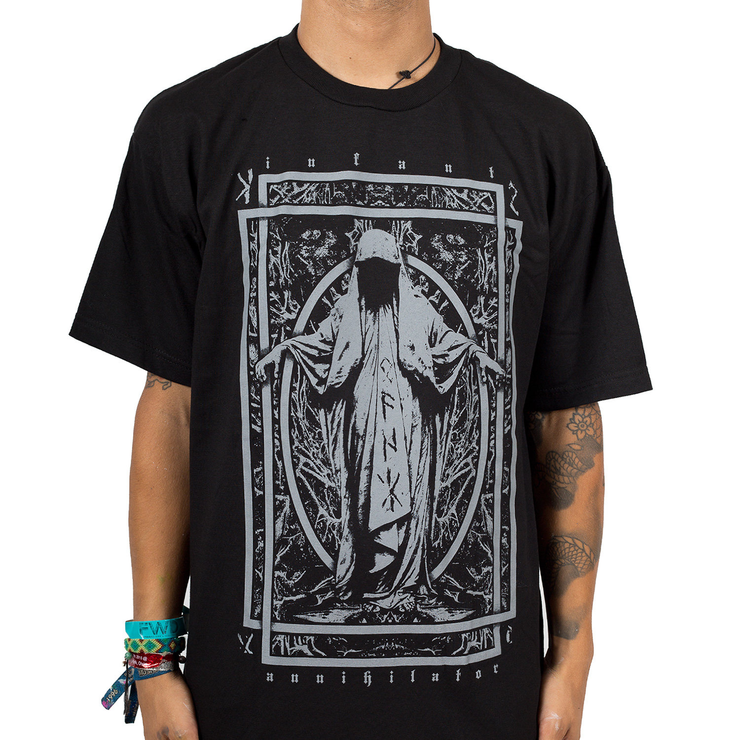 Black t shirt for babies - The Priest