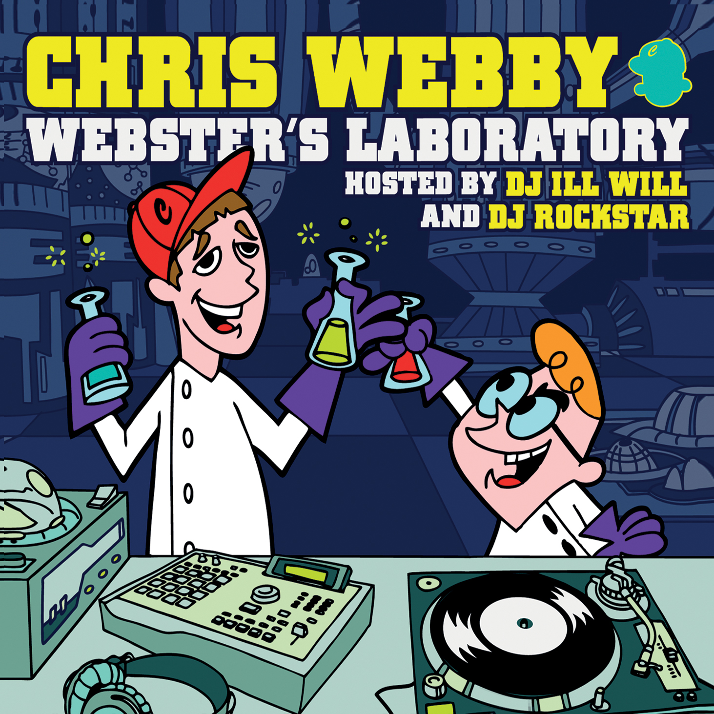 """Webster's Lab I"" Signed CD"