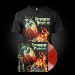 Pre-Order: Serpentine Dominion - LP Red Bundle