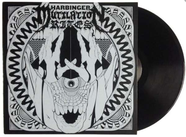 Harbinger LTD ED Hand Screened Vinyl