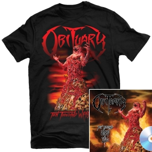 Ten Thousand Ways To Die T Shirt + CD Bundle