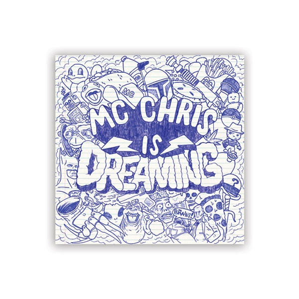 dreaming sticker