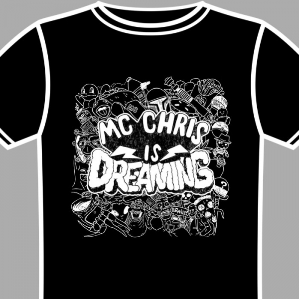 black dreaming shirt