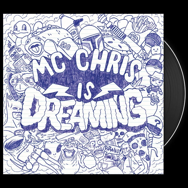 mc chris is dreaming, black vinyl