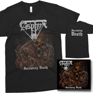 Pre-Order: Incoming Death CD + Cover T-shirt Bundle