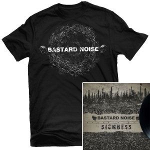Bone Nucleus T Shirt + Death's Door LP Bundle