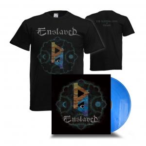 The Sleeping Gods-Thorn Tee & LP Bundle (blue)