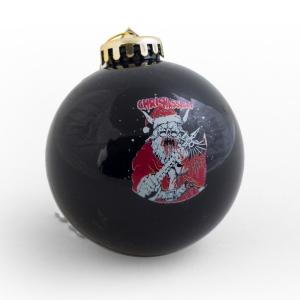 chrismassacre christmas ornament metal blade records - Heavy Metal Christmas Decorations