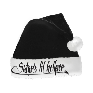 Pre-Order: Santa Hat - Satan's Lil Hellper