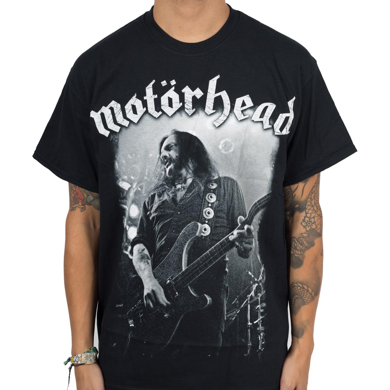 Motorhead Quot Lemmy Quot T Shirt Indiemerchstore