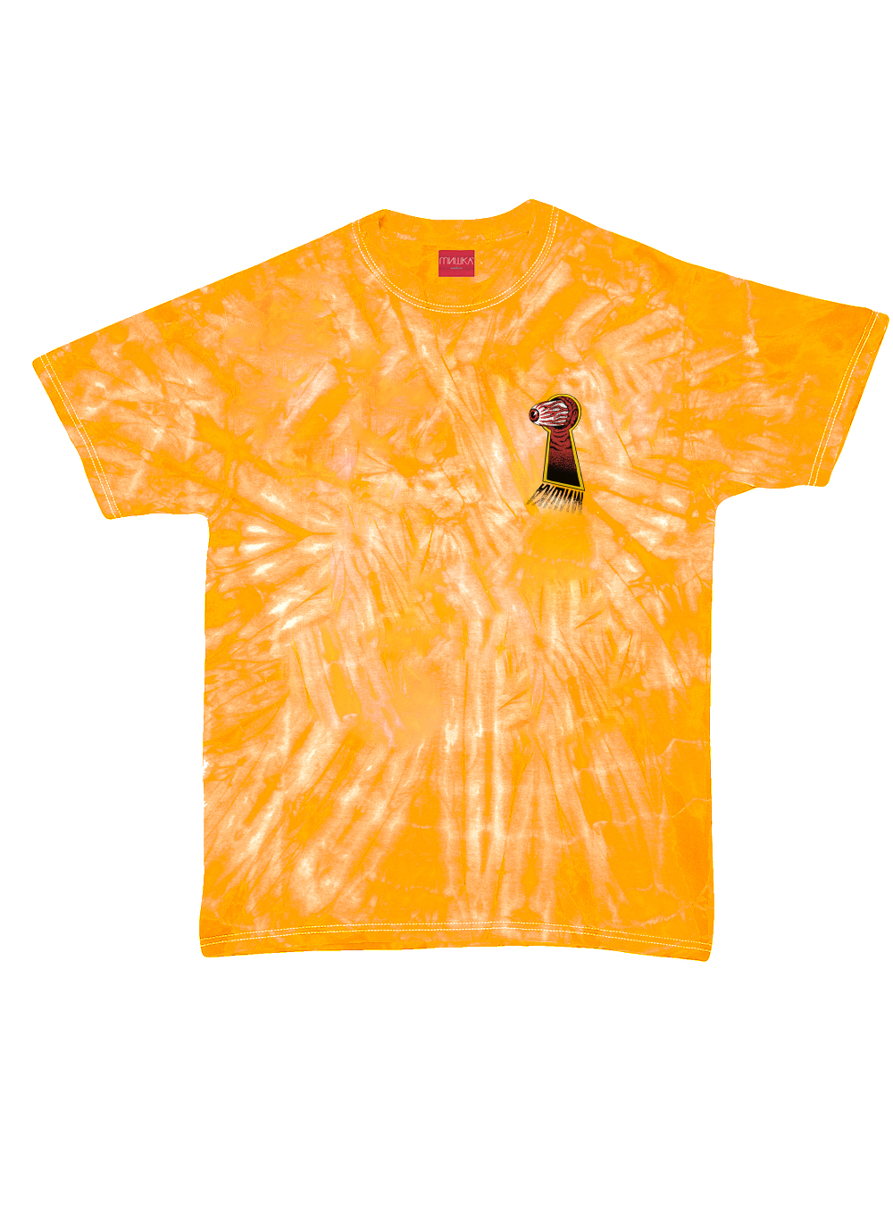 Keyhole Keep Watch Tie-Dye T-Shirt