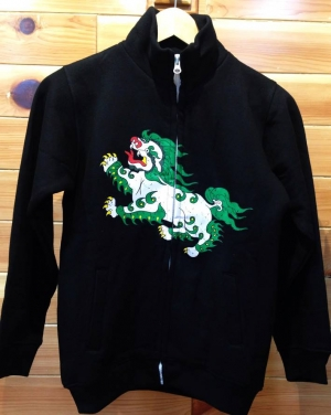 SnowLion zipper jacket