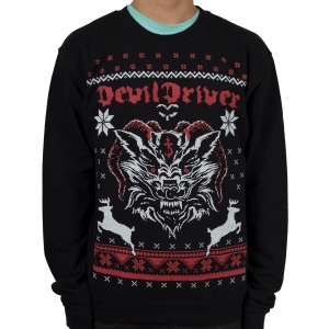 Wolf Ram Christmas Sweater