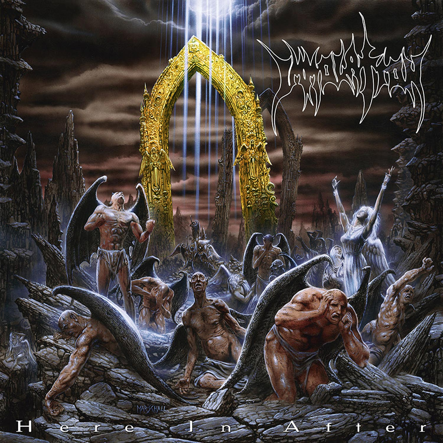 Immolation Quot Here In After Yellow Lp Quot 12 Quot Metal Blade