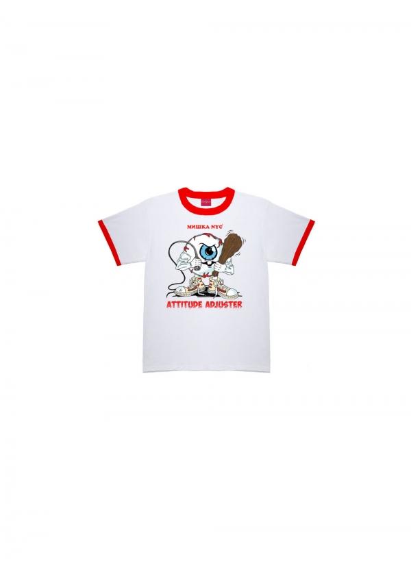 Attitude Adjuster Ringer T-Shirt