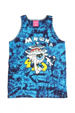 Ermsy: Keep Watch Tie-Dye Tank Top