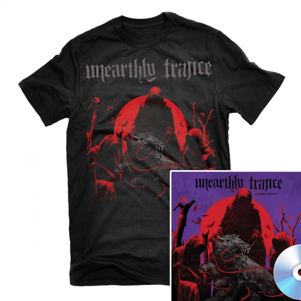 Stalking The Ghost T Shirt + CD Bundle