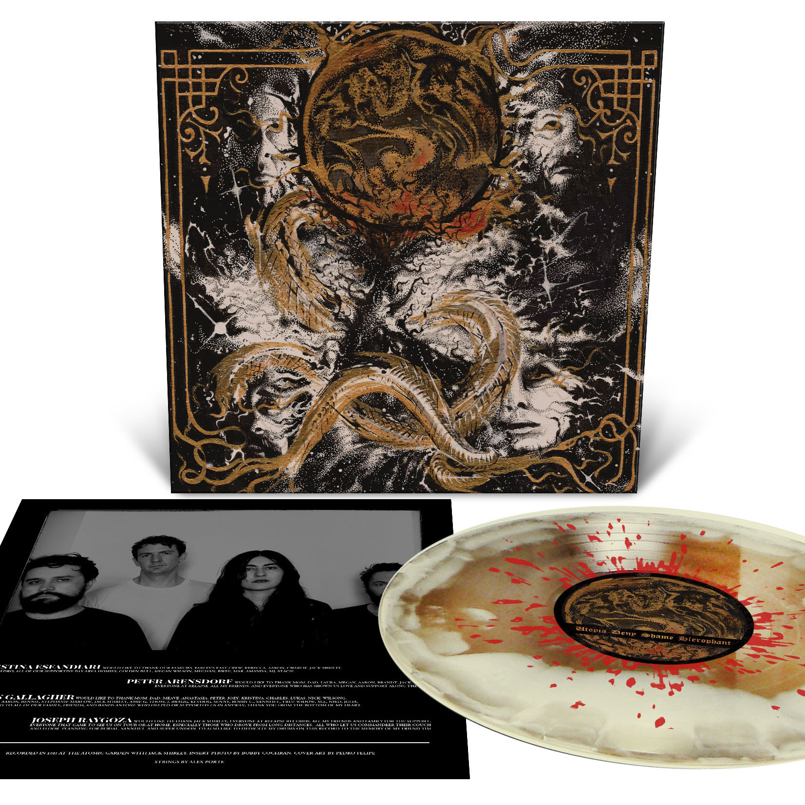 Created in the Image of Suffering T Shirt + LP Bundle