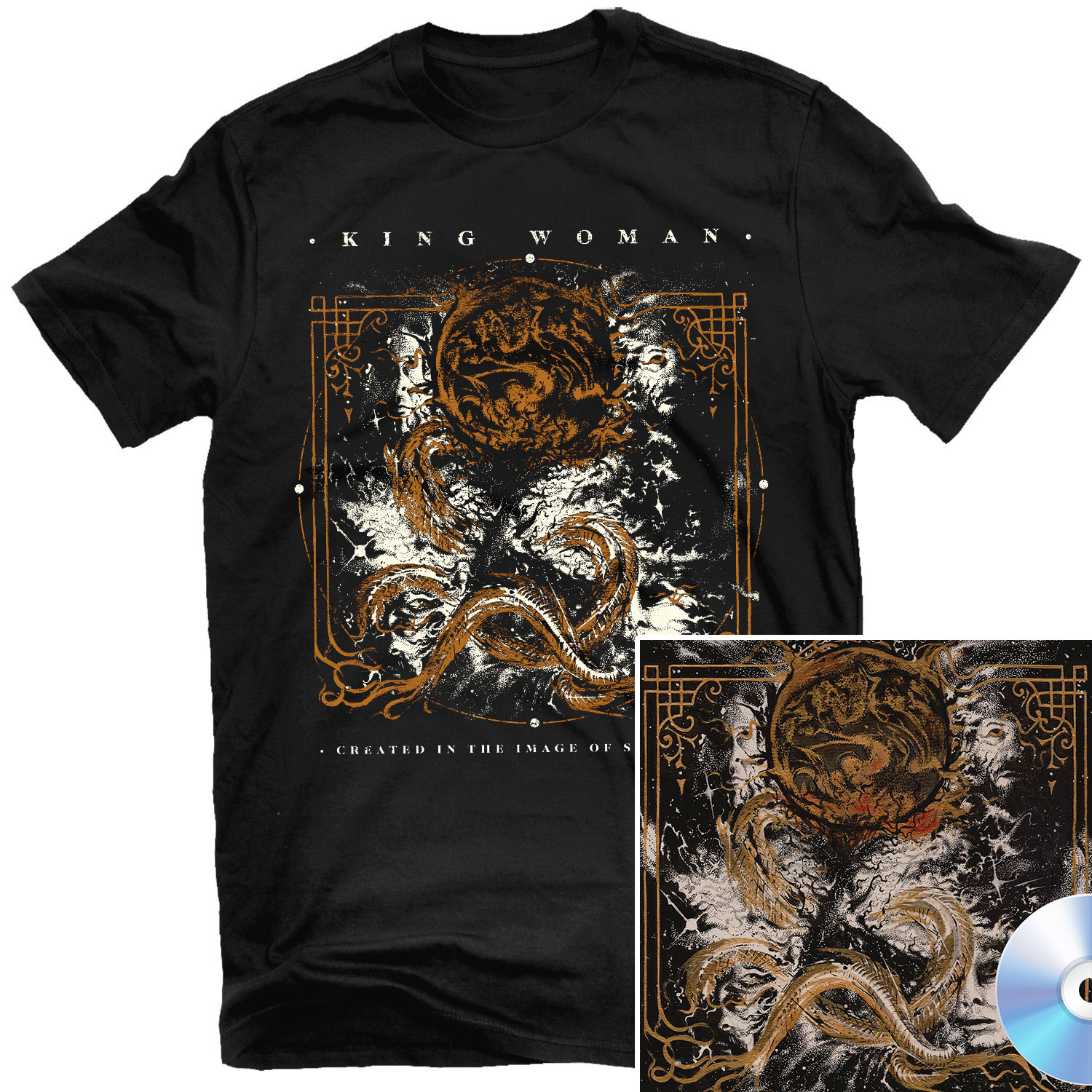 Created in the Image of Suffering T Shirt + CD Bundle