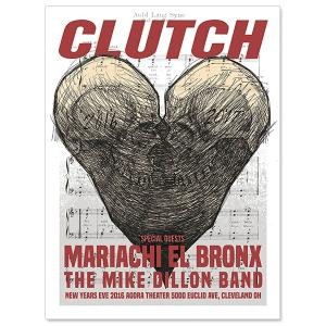 Clutch NYE 16-17
