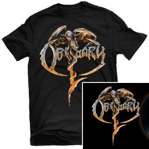 Obituary T Shirt + LP Bundle