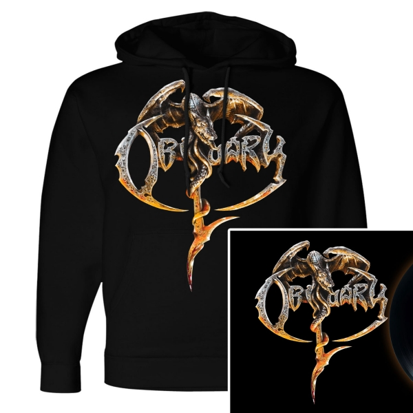 Obituary Pullover Hoodie + LP Bundle