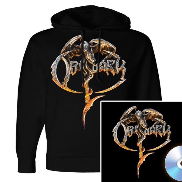 Obituary Pullover Hoodie + CD Bundle