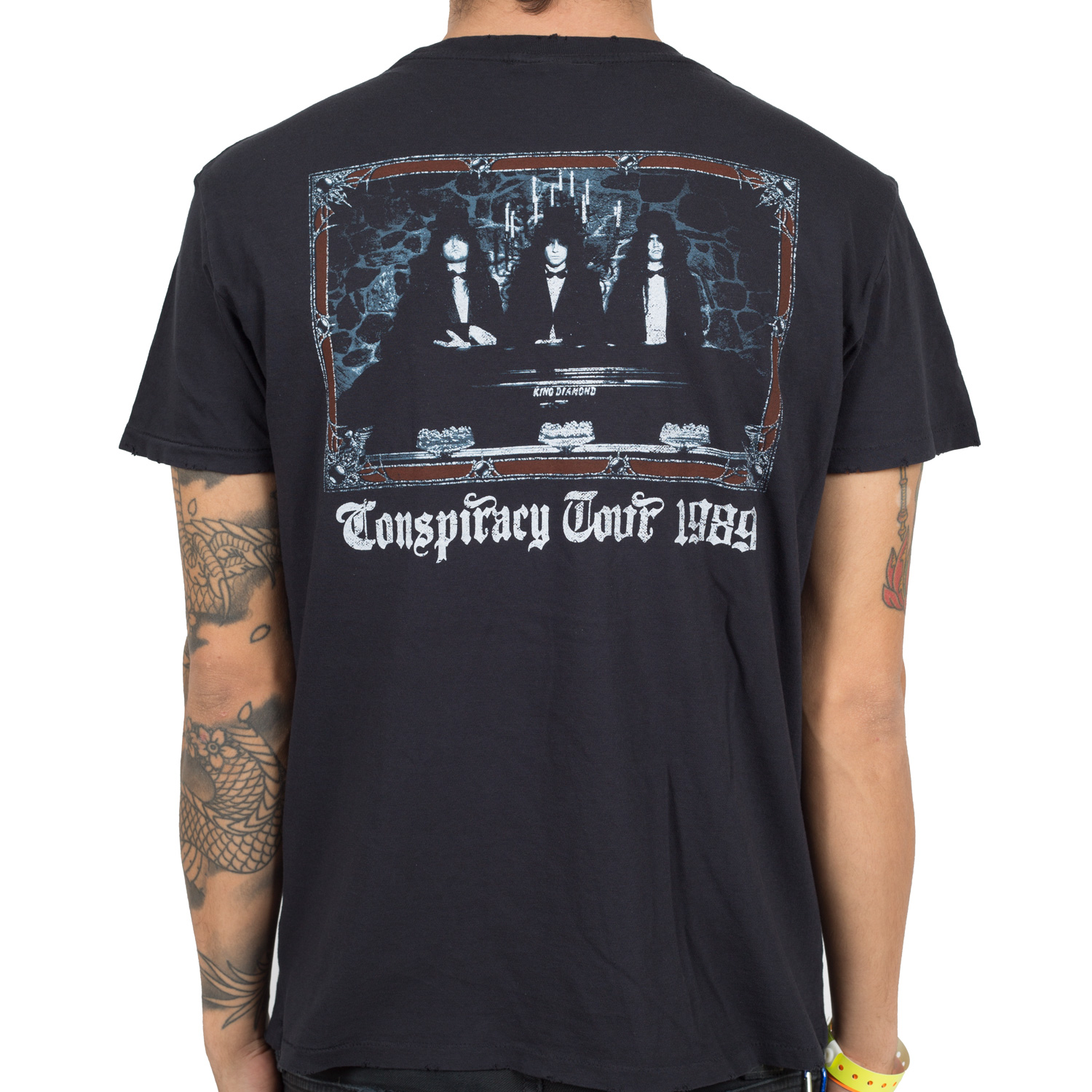 Conspiracy Tour Skull 1989 Retro