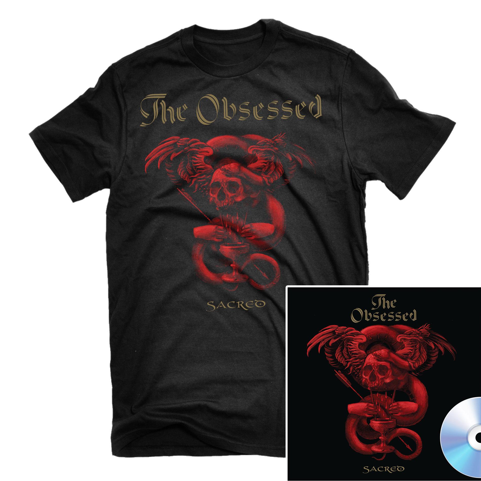 Sacred T Shirt + CD Bundle