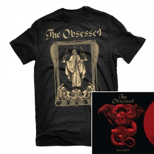 Sodden Jackal T Shirt + Sacred LP Bundle