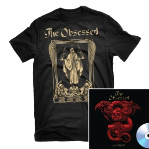 Sodden Jackal T Shirt + Sacred CD Bundle