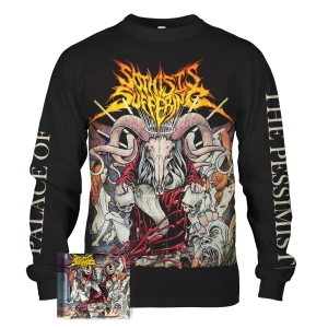 Palace Of The Pessimist CD + Longsleeve Bundle