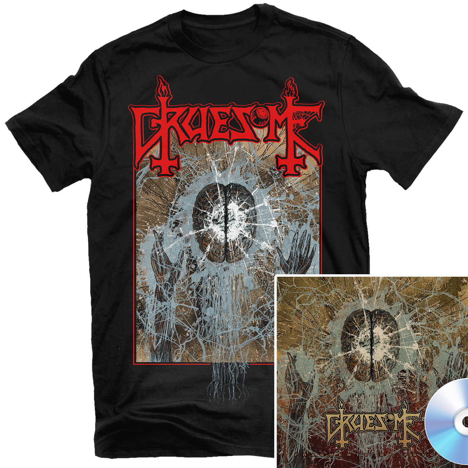 Fragments of Psyche T Shirt + CD Bundle
