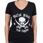 Pirate Logo - V-Neck T-Shirt