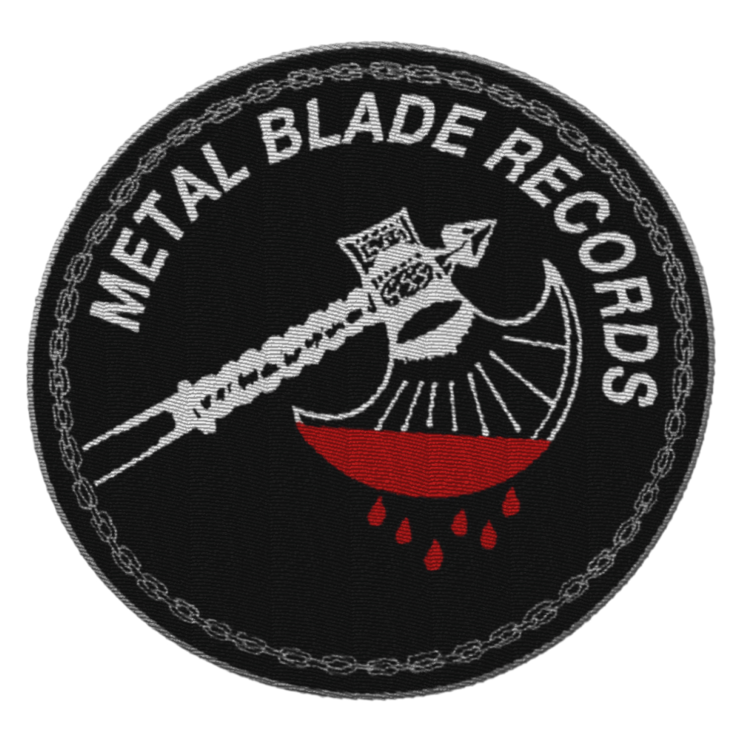 Metal Blade Records Axe Logo Patch Patch Metal Blade Records