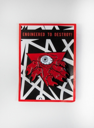 Demon Gate Enamel Pin