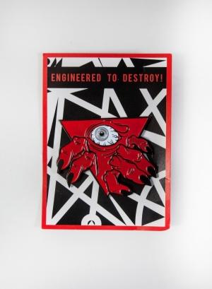 Demon Gate Enamel Pin