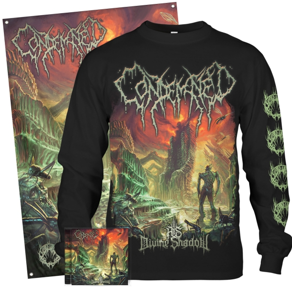 His Divine Shadow Longsleeve + CD Bundle