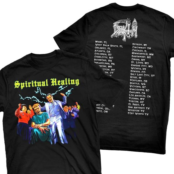 Spiritual Healing North American Tour - 1990