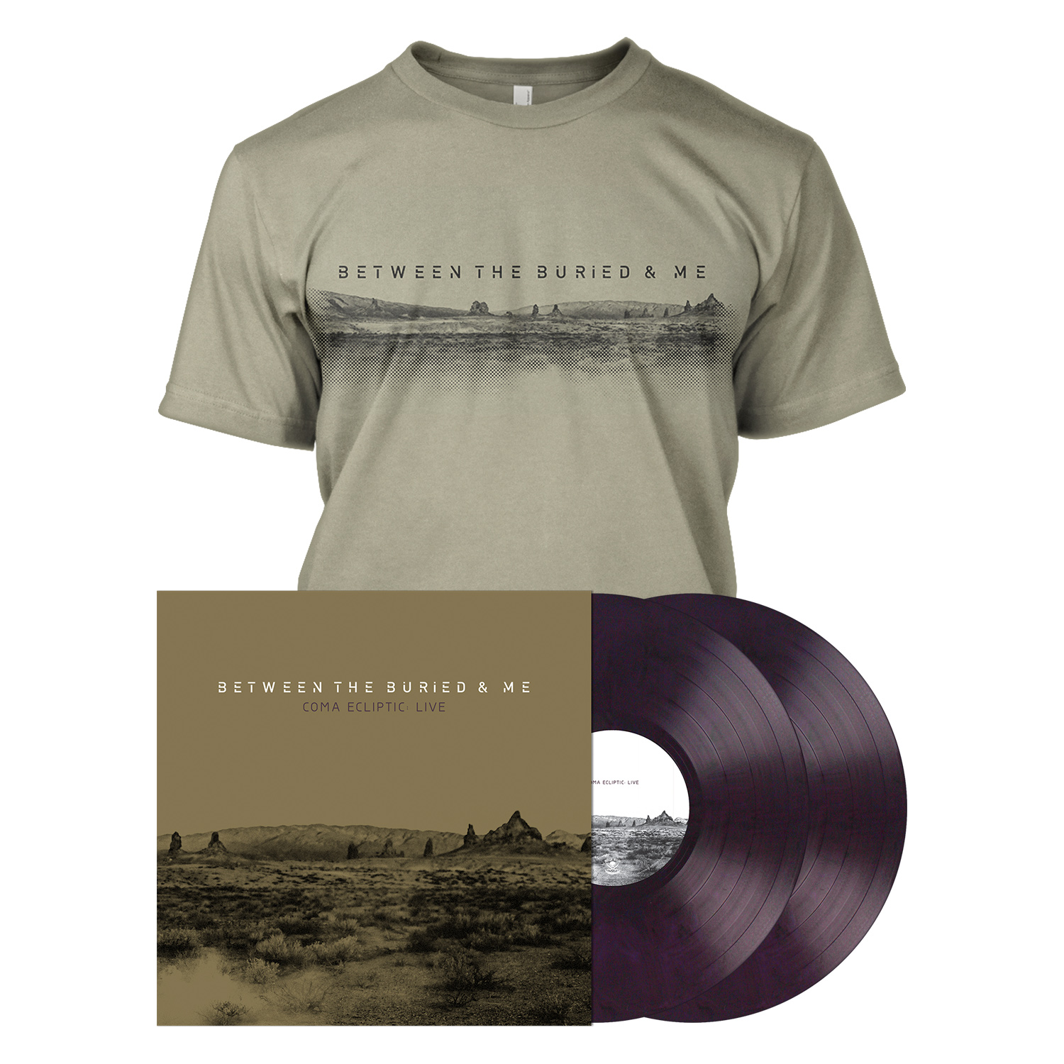 Coma Ecliptic: Live - Purple 2LP Bundle