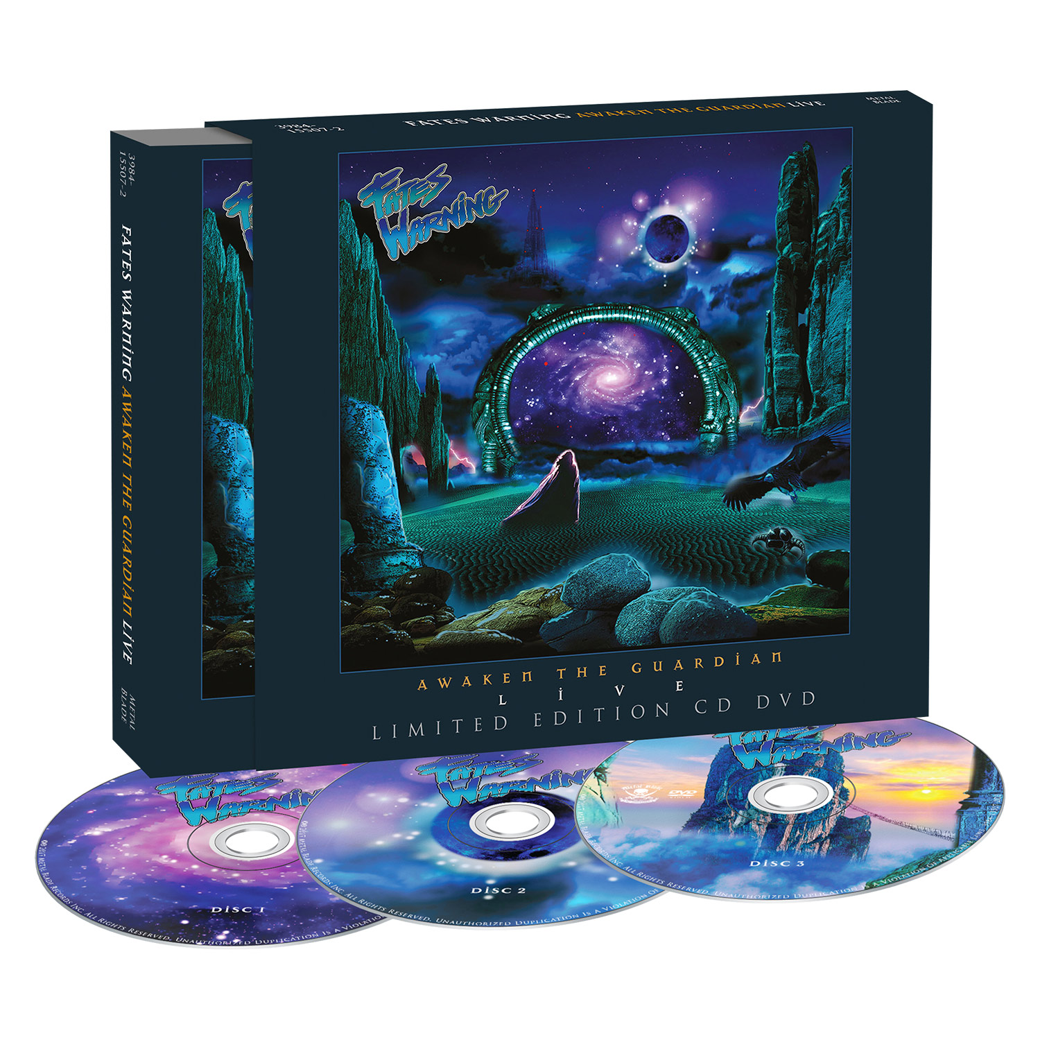 Awaken the Guardian Live - Digipak/LP Bundle - Purple