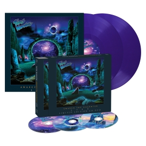 Pre-Order: Awaken the Guardian Live - Digipak/LP Bundle - Purple