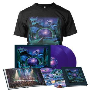 Pre-Order: Awaken the Guardian Live - Deluxe Book Bundle - Purple