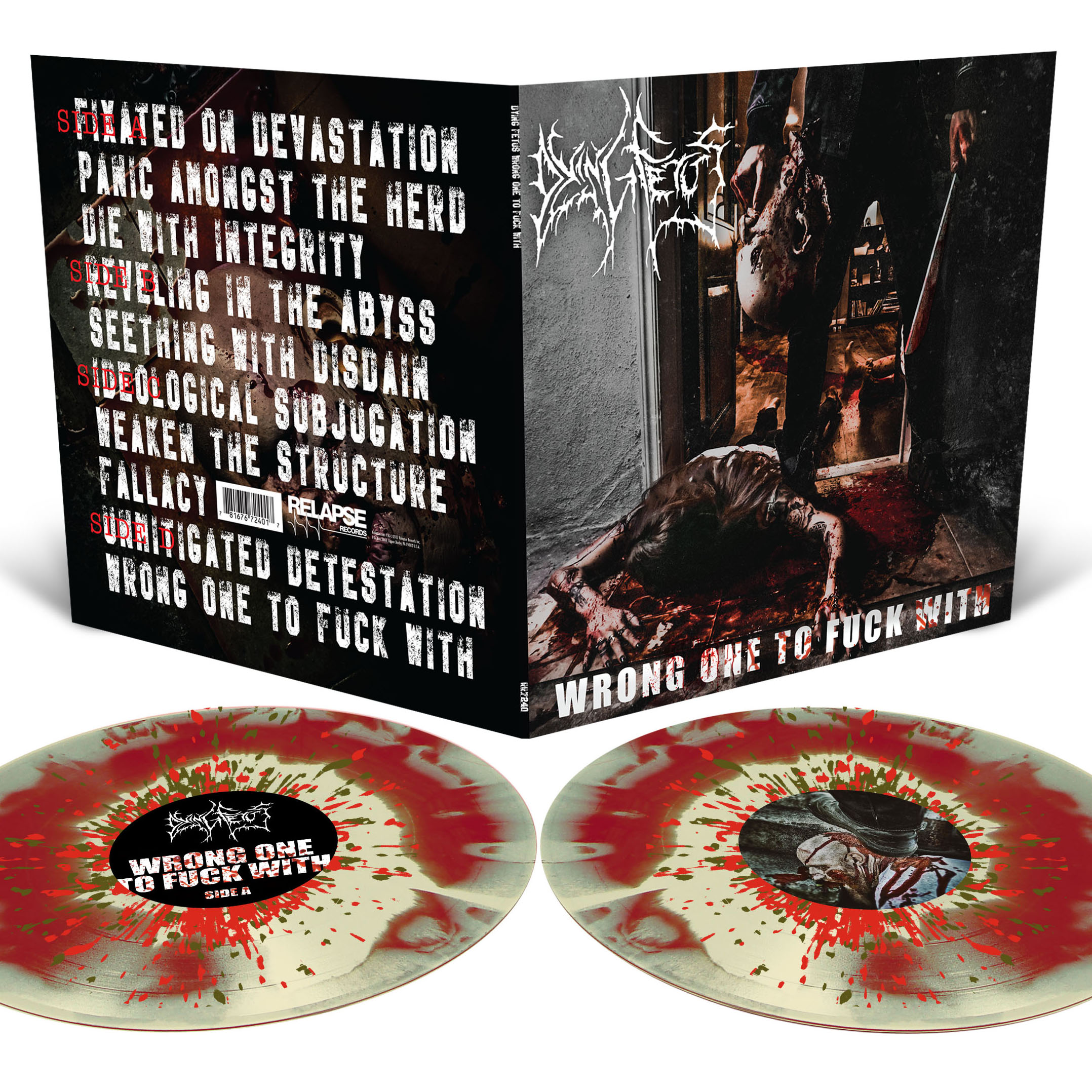 Wrong One To Fuck With T Shirt + 2LP Bundle